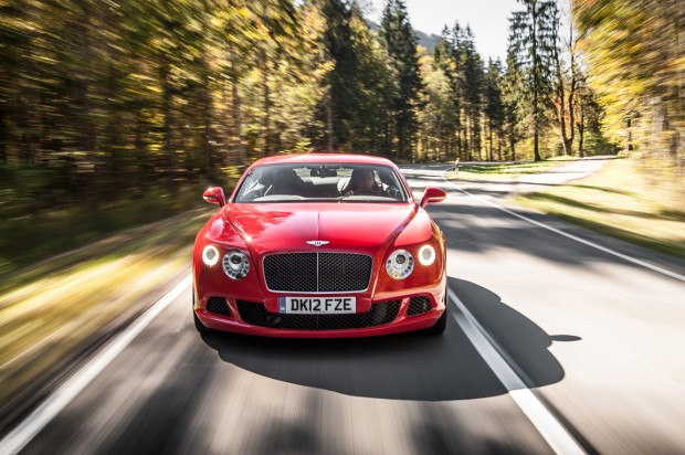 Bentley Continental GT Speed, Bavaria. October 2012