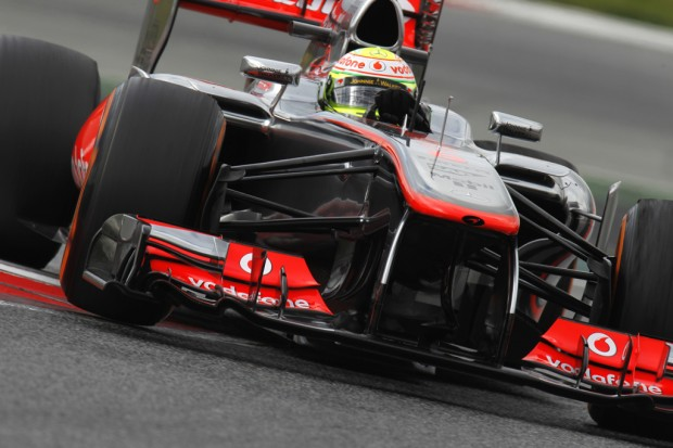 mclaren perez test