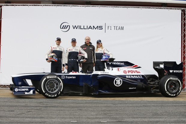 Williams FW35 Reveal
