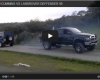 Land Rover vs. Dodge Ram Cummins tug of war