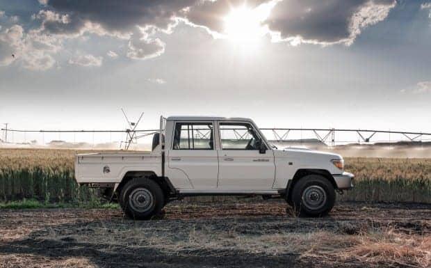 Toyota Land Cruiser double cab
