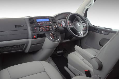 Volkswagen Kombi VW Caravelle interior