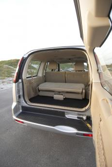 Ford Everest large rear loading space