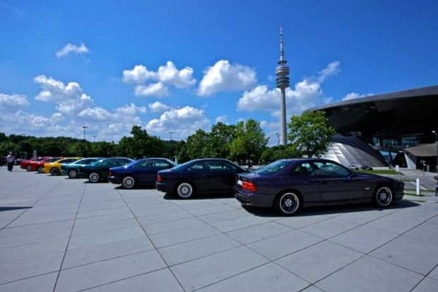 260 participants from 20 countries met at BMW Plant Dingolfing to celebrate the BMW 8 Series 1989 - 1999
