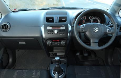 SX4 Interior